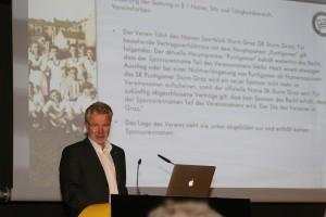 Sturm Graz Mitgliederversammlung